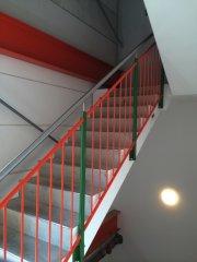 Metallbau - Absturzsicherung  Treppenhaus: Geländer 029
