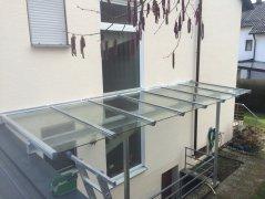 Vordachung Überdachung Treppe 001
